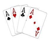 four of a kind aces