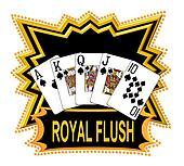 Royal Flush Logo