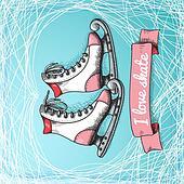 Love skate card theme