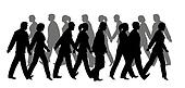 pedestrian silhouette