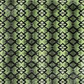 Woven Green Diamonds Abstract