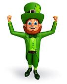 Leprechaun for Patrick's Day