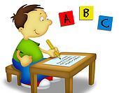 Child Studying 1