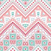 Tribal ethnic zig zag pattern. illustration