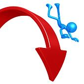 Falling Off Downward Market Arrow