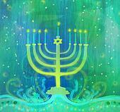 Hanukkah Greeting Card.