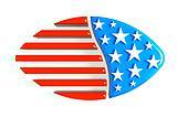 3D football USA Icon