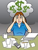 Woman with Money Problem