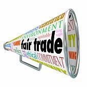 Fair Trade Megaphone Bullhorn Supply Chain Sustainable Environme