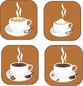 Coffee,tea icons