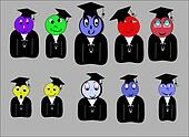 grad class of icon university