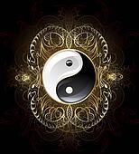 Symbol Yinyang (Yin-yang)