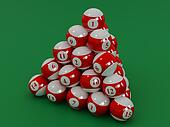 Spheres for a billiard