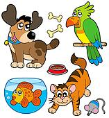 Cartoon pets collection