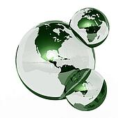 Earth Water molecule