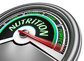 nutrition conceptual meter indicate perfect