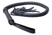 Black Single Tail Whip.