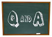 Questions and Answers - Chalkboard