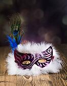 Fancy dress ball, Carnival mask