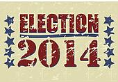 Election 2014 Grunge