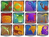 Zodiac Animal Frame Icons