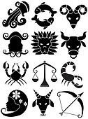 Zodiac Animal Black