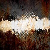Grungy Splatter Template