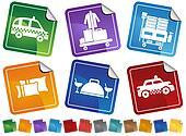 Hotel Service Sticker Set