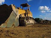 Excavator on the Side