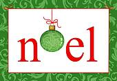 Christmas Greeting Noel
