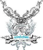 Crest emblem design