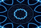 Dance of Blue Lights, fractal02FXX