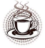 Coffee Cup Graphic Style