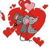 Enamoured mice