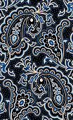 Outlined classic paisley