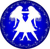 zodiac button gemini