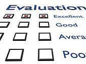 Evaluation sheet