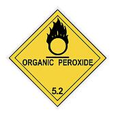 Organic Peroxide Warning Label