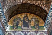 Hagia Sophia Interior in Istanbul, Turkey