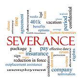 Severance Word Cloud Concept