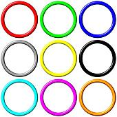 Colorful Rings