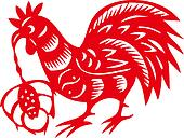 Chinese Zodiac of Cock Year