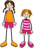 Tall / Short Girl