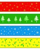 Christmas border or banner