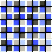 blue and grey tile pattern