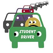 student driver illustration