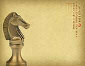 year of the horse 2014 design, Happy Chinese New Year greeting