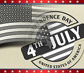 4th July American Independence Day