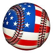 Patriotic Baseball