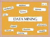 Data Mining Corkboard Word Concept